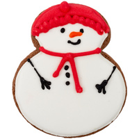Печенье Sweetish Snowman, красное